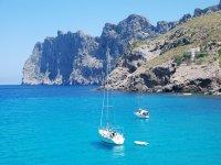 在巴利阿里群岛航行