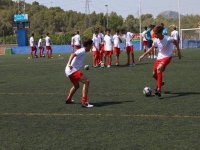 Inglaterra en casa Campus de Fútbol