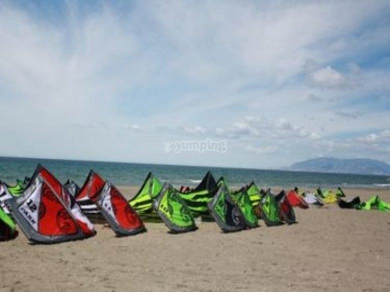 Clases de iniciación kitesurf