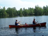 Canoas en Familia