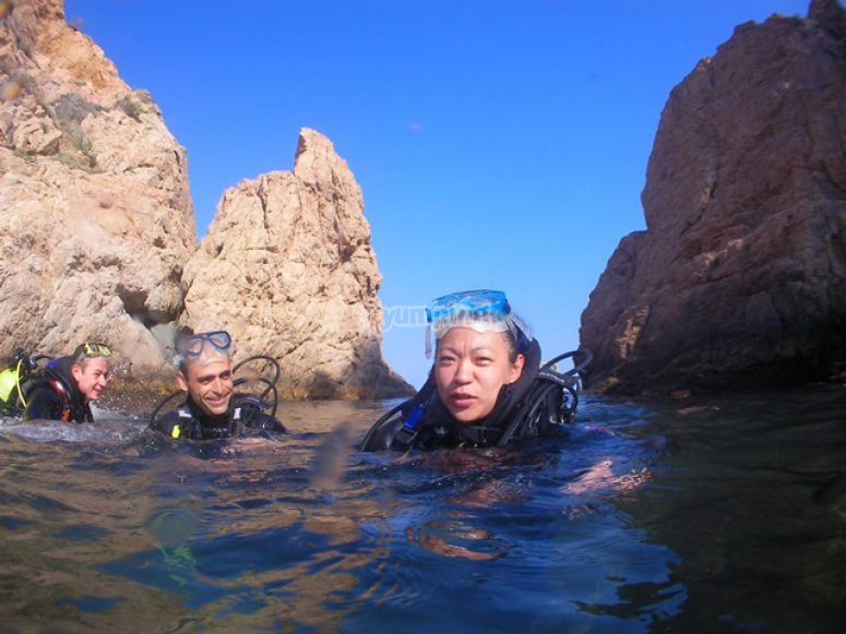 Inmersiones en la costa catalana