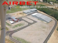 Vistas aereas del aerodromo