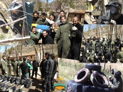 Multiaventura El Molino Paintball