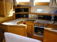 厨柜是从船上章程的独立空间