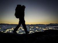 徒步旅行天空