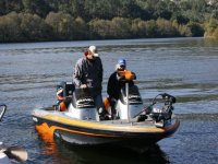 Motora en pesca de Black Bass