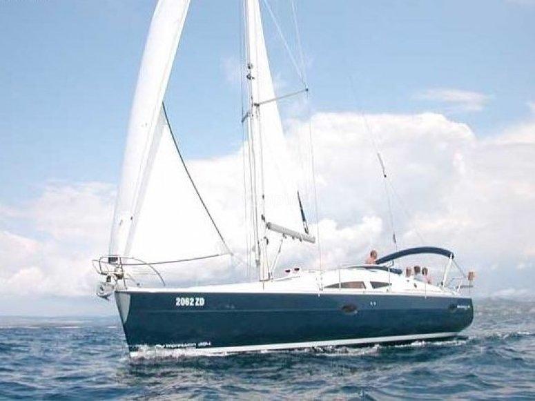 Surcando el mar en velero