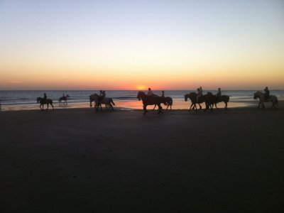 2-hours Horse Riding Tour La Barrosa Beach
