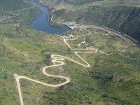 Vista aérea Ruta del agua