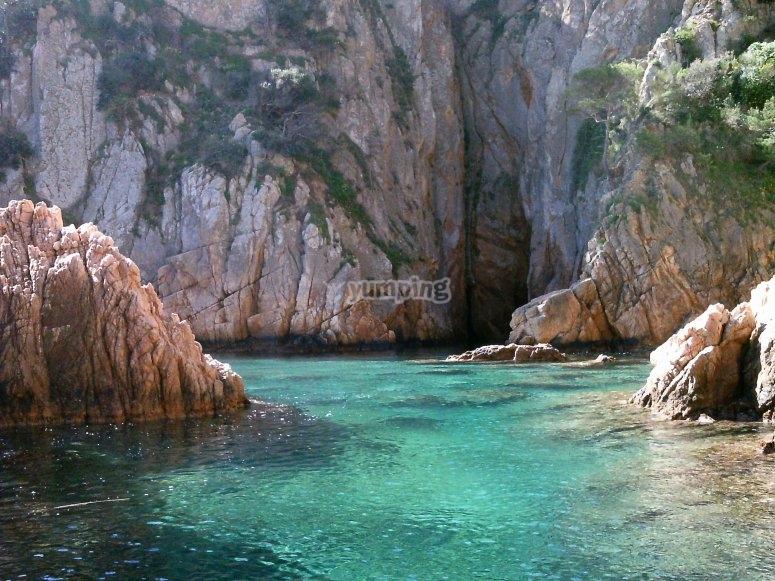 参观萨加罗(S'Agaró)的海湾