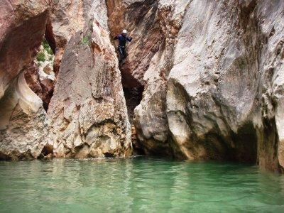 Sierra de Guara的峡谷包装4天