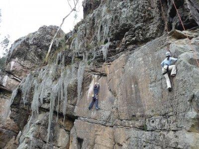 Escalada en roca jornada completa