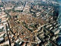 La ciudad de Vitoria desde el cielo