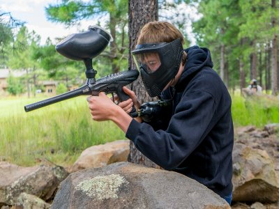 Paintball en La Rioja con 200 bolas