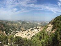 Vista dalla sierra a Jaén