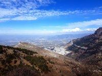 Panoramico dalla montagna