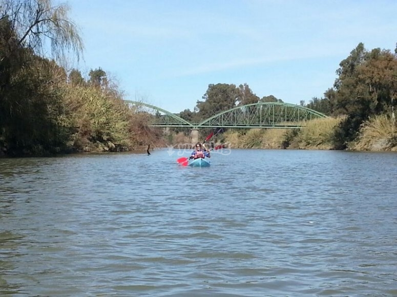 Una relajante ruta en kayak
