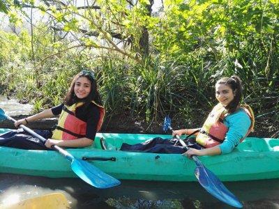 Ruta en kayak por el Río Guadiaro 2 horas