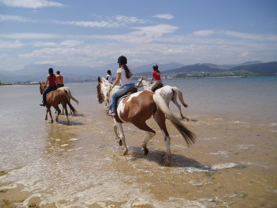 2-Hour Horse Ride Route, Regatón Beach