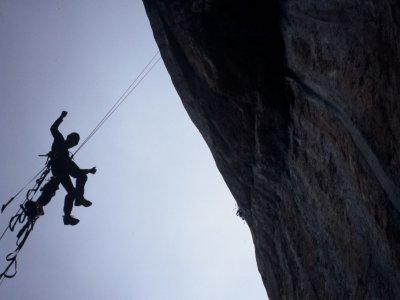 Rock-climbing initiaiton course