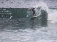 Aprovechando las mejores olas