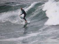 Surfeando en Gijon