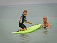 Iniciacion surf para niños