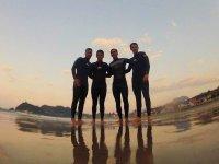 Surf con tus amigos
