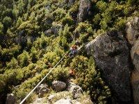 Vía Ferrata en Alcora La Roca del Molí 4 horas