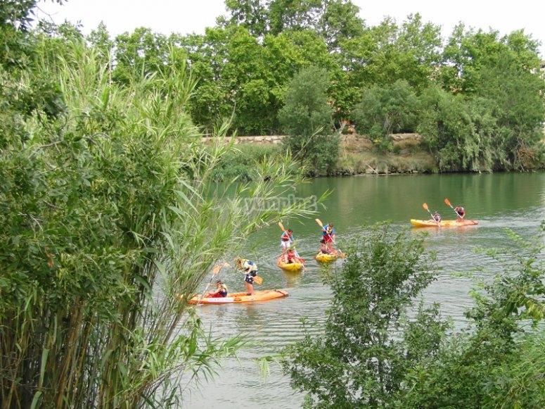 Paseo en kayak en Aiguadolls
