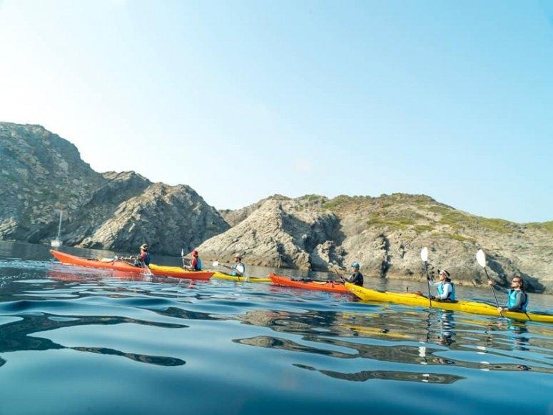 Ruta familiar en kayak Aiguamolls