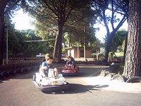 Circuito de karts para niños