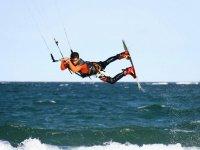Professional kitesurfing