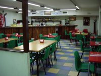 Cafeteria facilities in the park