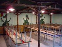 Children's playground cafeteria