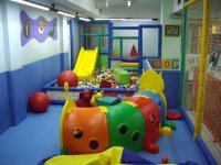 Toys in the playground