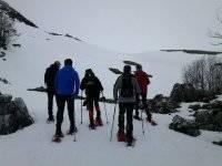 Raquetas en nieve
