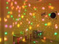 Discoteca con lucecitas