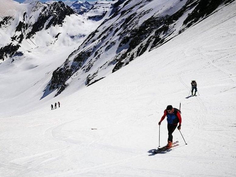 Prueba el esqui