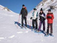 Excursión en raquetas de nieve Ordesa 2 horas