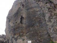 Almendrón铁索攀岩爬