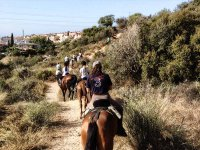 2 h horse riding tour in Marbella