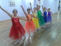 Bailarinas en posición