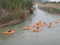 Canoeing on the Nerpio