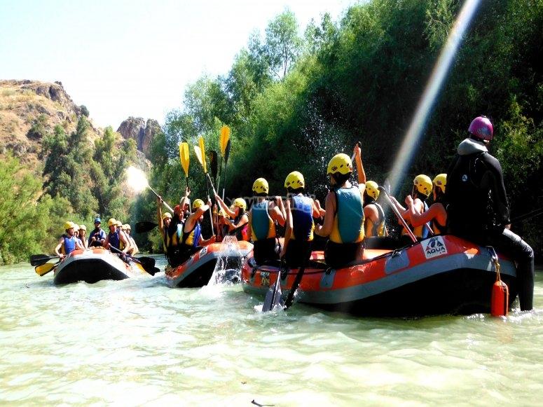 Discesa di rafting a El Tejar