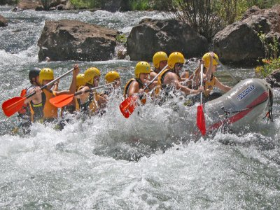 Rafting in Alto del Guadalquivir in Jaén 4 hours