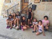 Las niñas en Ilzarbe
