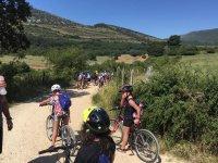 De ruta en bici por el valle de Ollo