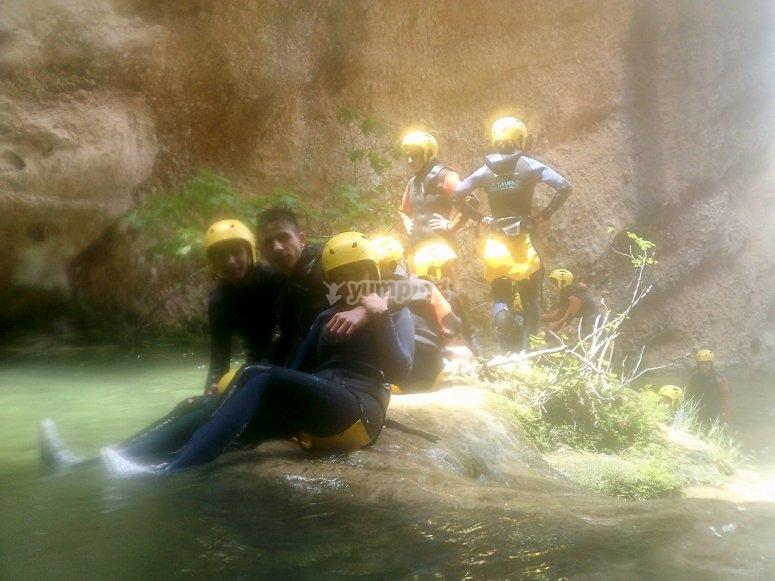 Canyoning at Tarragona
