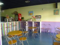 Cafeteria and area for the parents